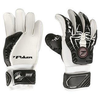 Luva de Goleiro Poker Black Spider Trainning
