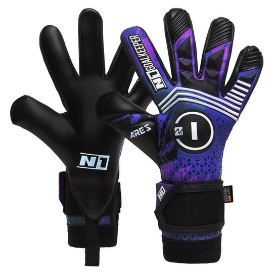 Luva de Goleiro Profissional N1 Ares Purple - Roxo
