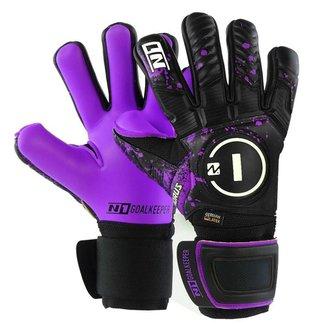 Luva de Goleiro Profissional N1 Horus Elite Purple