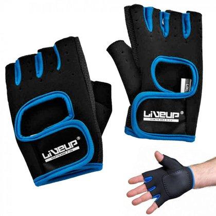 Luva de Treinamento LIVEUP LS3077 para Musculação Ginástica