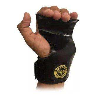 Luva Grip Lona Dupla, Protetor Palmar Crossfit - Be Stronger