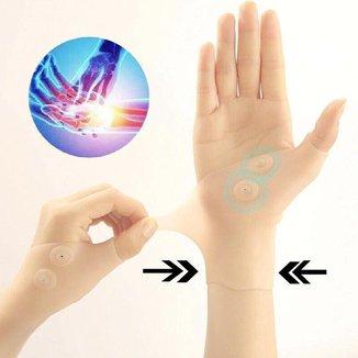 Luva Magnética de silicone 1 Par Alivia Dores - Munhequeiras