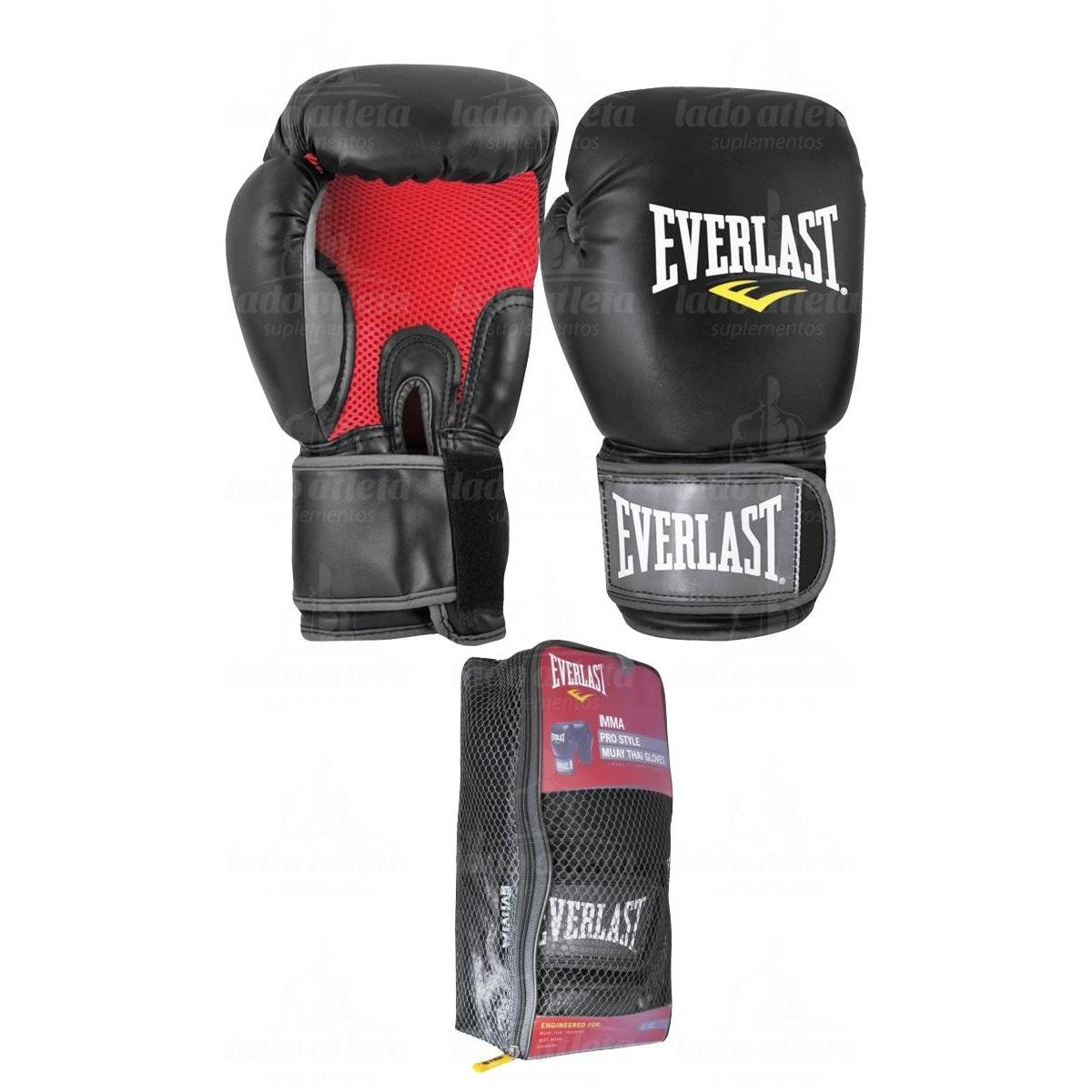 Luva Mma   Muay Thai Pro Style Everlast - Compre Agora  bcd64d265719a