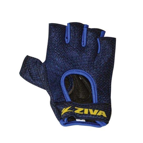Luva Para Musculação Energy Series Ziva - Azul