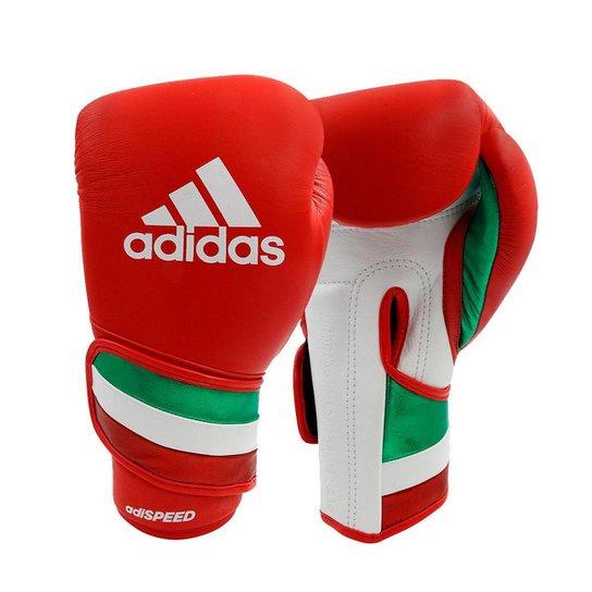 Luvas de boxe e kickboxing adidas Adi-Speed 501 Pro Red - Vermelho