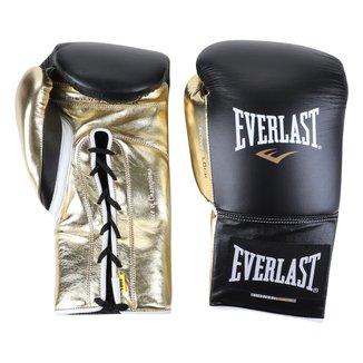 Luvas de Boxe/ Muay Thai Everlast Powerlock Amarração 18 Oz