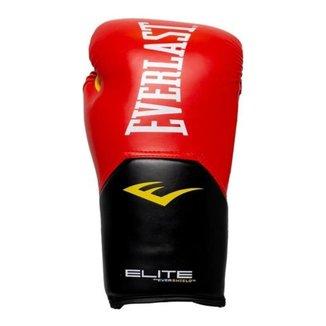 Luvas Muay Thai, Boxe - Pro Style Elite V2 - Verm - Everlast
