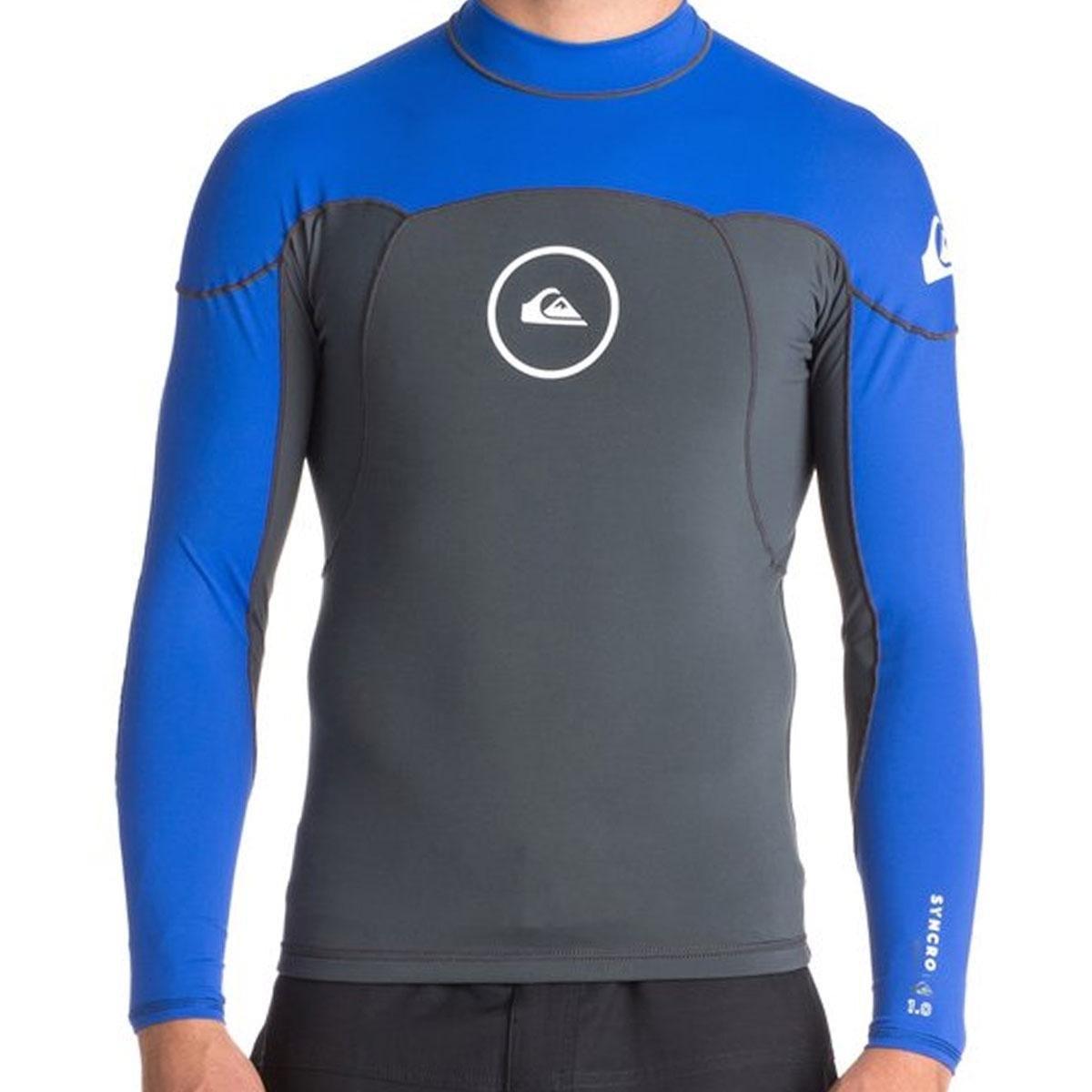 4d1055fad7c Lycra Quiksilver Neo Shirt Ml Neos Syncro 1.0 Mm Masculina - Azul e Cinza -  Compre Agora