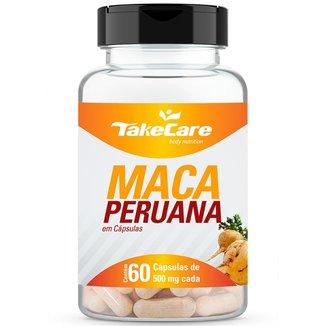 MACA PERUANA 500MG 60 CÁPSULAS - TAKE CARE