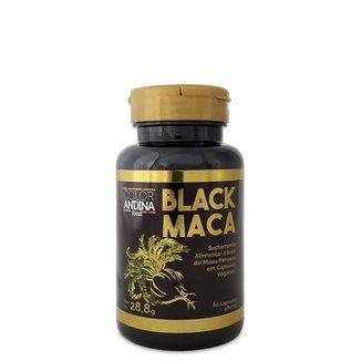 Maca Peruana Black Maca 60 Cáps - Color Andina Food