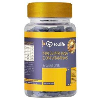 Maca Peruana com Vitaminas e Minerais 600mg - 30 Cáps - Soulife