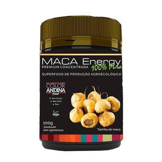 Maca Peruana Maca Energy Em Pó 100% Pura 100G - Color Andina Food