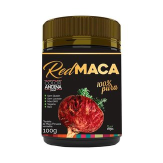 Maca Peruana Red Maca 100G - Color Andina Food