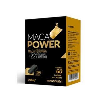 Maca Power Maca Peruana 60 cáps - MaxiNutri
