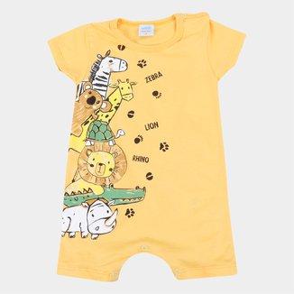 Macacão Bebê Marlan Bichinhos Masculino