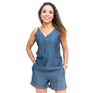 Macacão Charry Denim Azul P