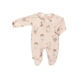 Macacão Feminino Em Suedine - Anjos Baby