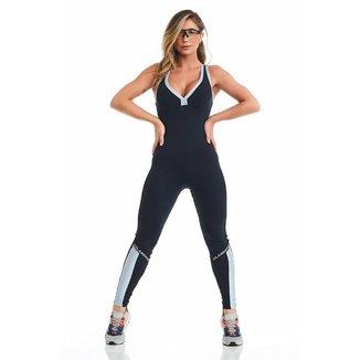 Macacão Fitness Cajubrasil NZ Brave Feminino