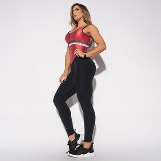 Macacão Fitness Elástico Feminino