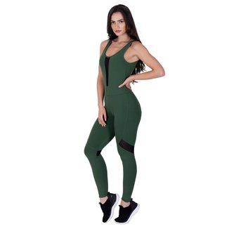 Macacão Forest Verde Militar - Ref 3009