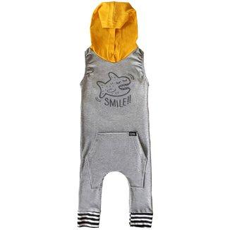 Macacão Infantil Capuz Comfy Smile