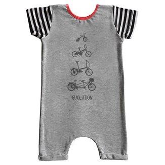 Macacão Infantil Curto Comfy Bike