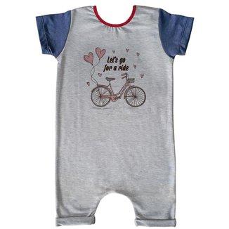 Macacão Infantil Curto Comfy Ride