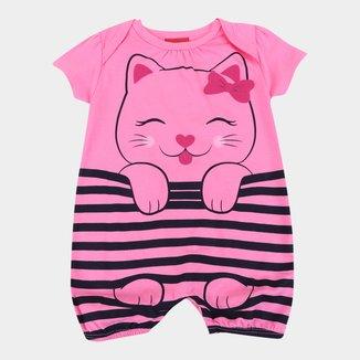 Macacão Infantil Kyly Gatinha Feminino