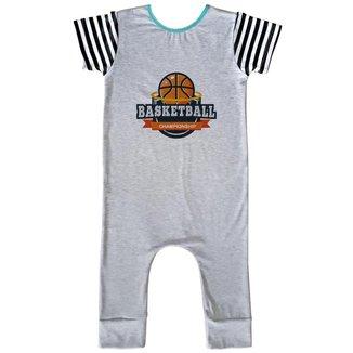 Macacão Infantil Longo Comfy Basketball