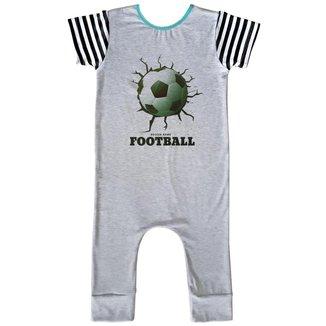 Macacão Infantil Longo Comfy Soccer Game