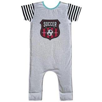 Macacão Infantil Longo Comfy Soccer