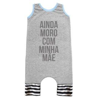 Macacão Infantil Regata Comfy Moro Com A Minha Mãe