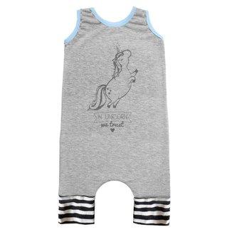 Macacão Infantil Regata Comfy Unicorn