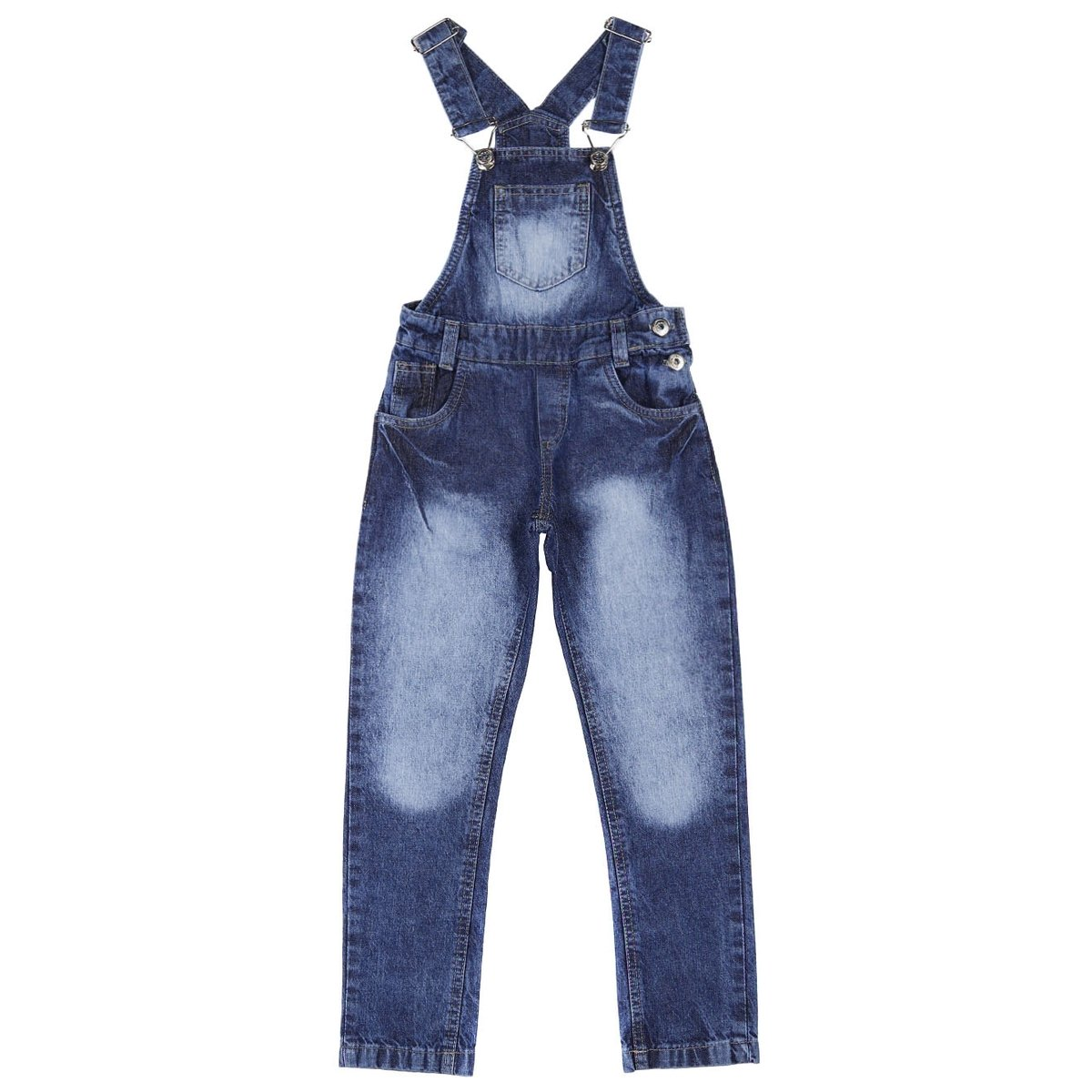838493ccf Macacão Jardineira Infantil Para Menina - Azul - Compre Agora