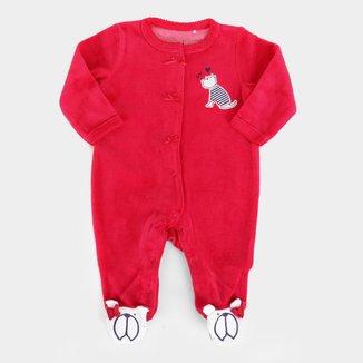 Macacão Longo Bebê Tip Top Plush Dog