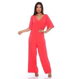 Macacão Pantalona B'Bonnie Lily Feminino
