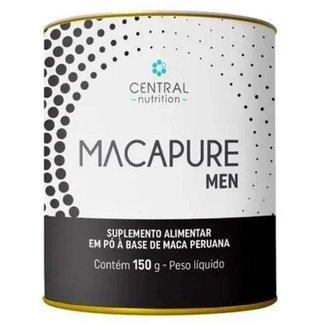 Macapure Men, 150g Extrato Pó De Maca Negra, Central Nutrition