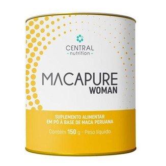 Macapure Woman 150g Extrato Pó De Maca Central Nutrition