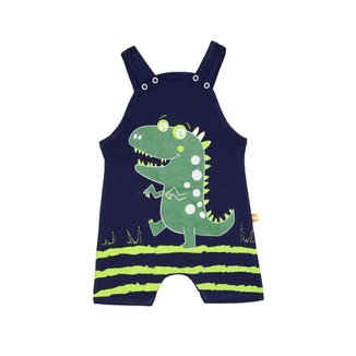 Macaquinho Bebê Menino Dinossauro Marinho – Minitune