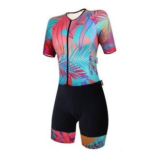 Macaquinho Ciclismo Bike Feminino SportXtreme Expert Oásis