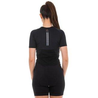 Macaquinho Ciclismo Cape Epic Elite Feminino UV 50+ Casual