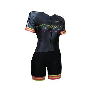 Macaquinho Ciclismo Fit Feminino Batimentos