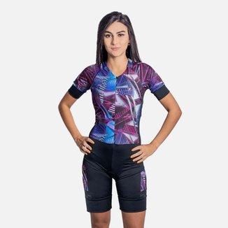 Macaquinho Ciclismo Poker Harpy Feminino