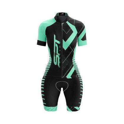 Macaquinho Ciclismo Spartan Spt Manga Curta Proteção UV Ref 02