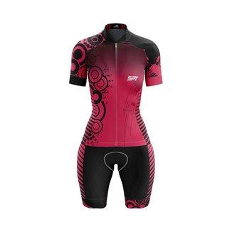 Macaquinho Ciclismo Spartan Spt Manga Curta Proteção UV Ref 03