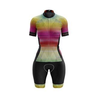 Macaquinho Ciclismo Spartan Spt Manga Curta Proteção UV Ref 04