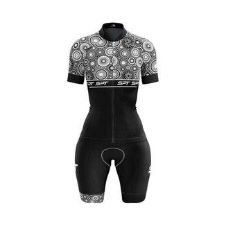 Macaquinho Ciclismo Spartan Spt Manga Curta Proteção UV Ref 15