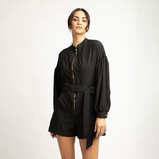 Macaquinho Fashion C Zipper