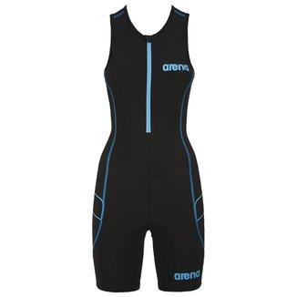 Macaquinho Fem Arena Para Triathlon Trisuit St Front Zipper