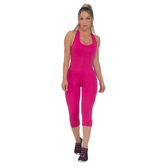 Macaquinho Feminino Fitness Corsário Rosa - Rosa